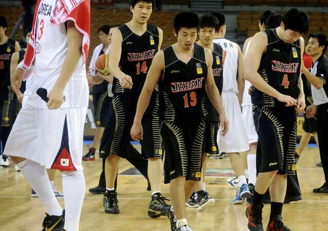 Japonya erkek basketbol takımı