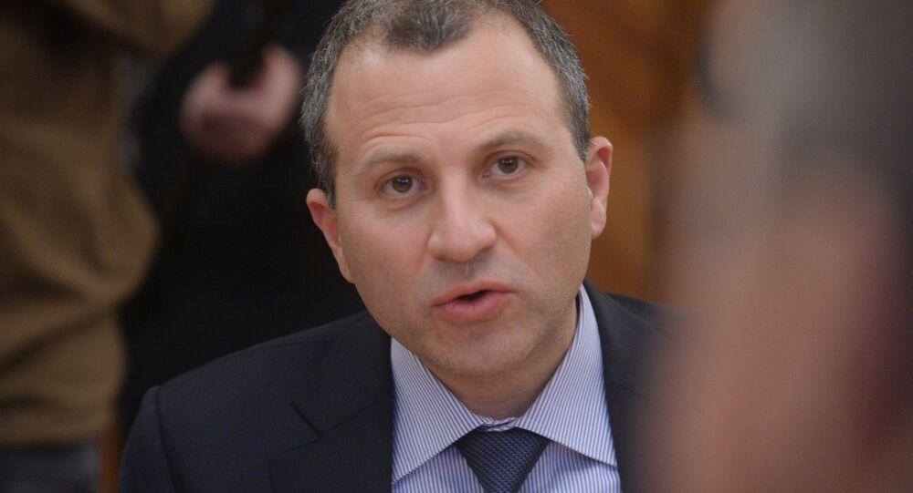 Lübnan Dışişleri Bakanı Cibran Basil