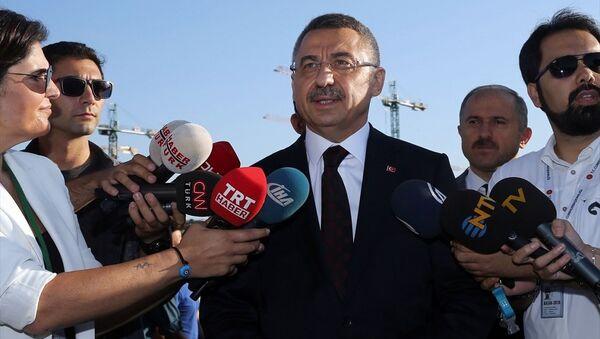Cumhurbaşkanı Yardımcısı Fuat Oktay - Sputnik Türkiye