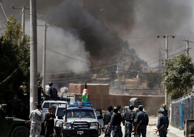 Afganistan'ın başkenti Kabil'de diplomatik bölgeye kurban bayramı saldırısı