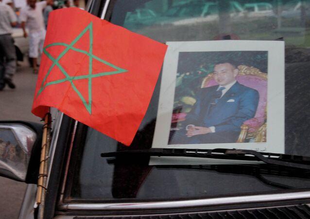 Car of Morocco's King Mohammed VI