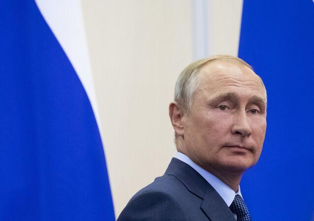 Rusya Devlet Başkanı Vladmir Putin
