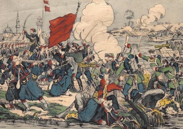 Türk-Rus savaşı