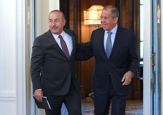 Mevlüt Çavuşoğlu- Sergey Lavrov