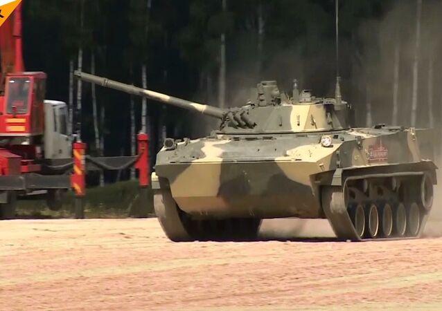 Rusya'da yeni nesil askeri araçlar sergilendi