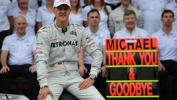 German Formula One driver Michael Schumacher - Sputnik Türkiye