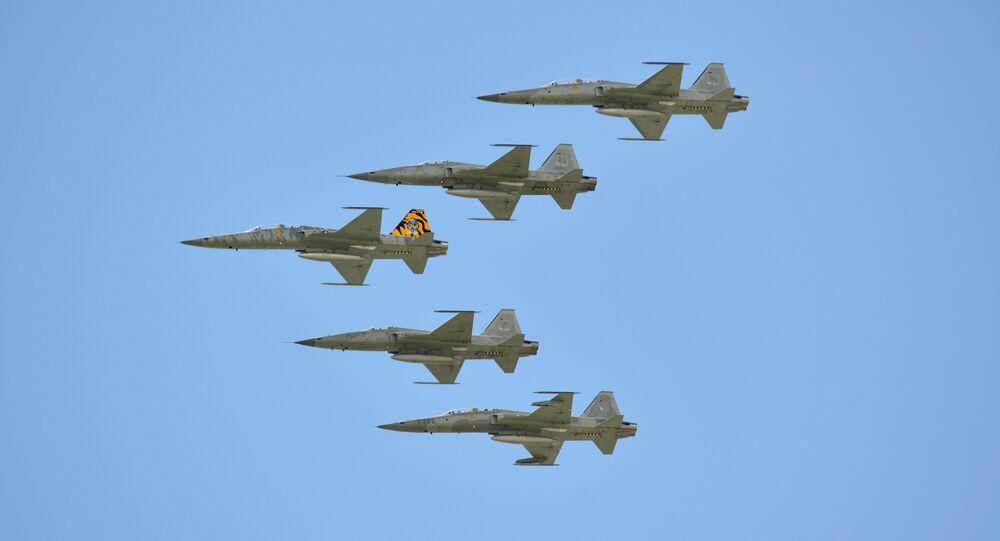 F-5 savaş uçakları
