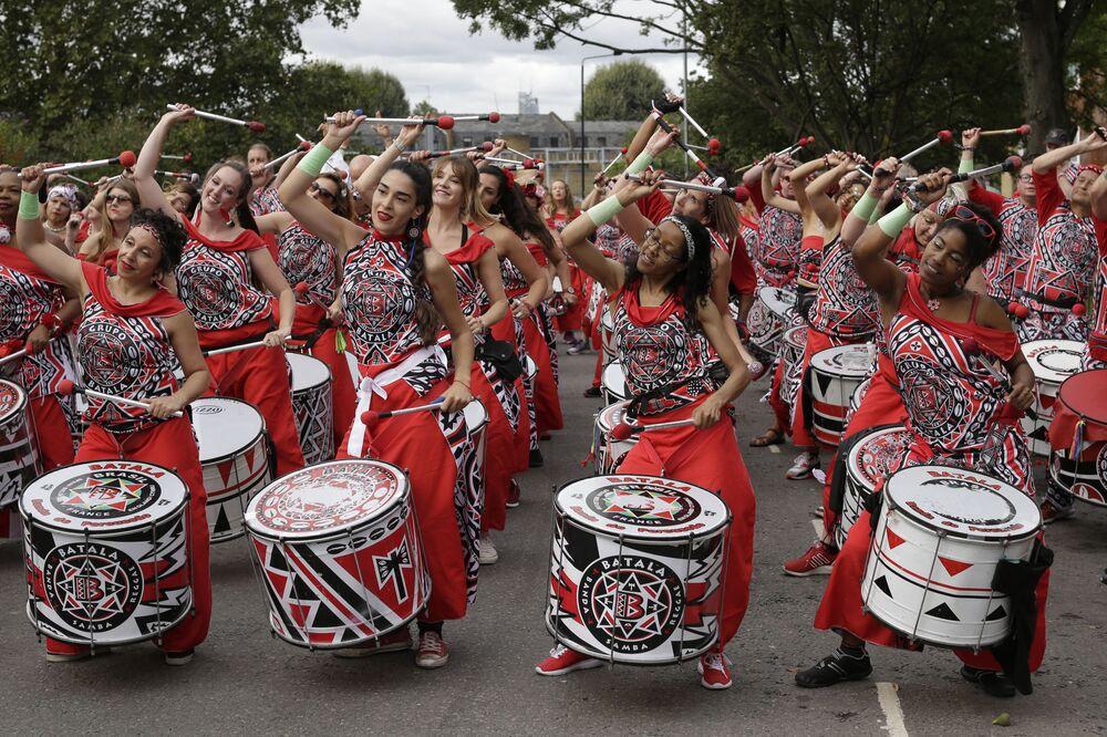 Londra'da Notting Hill Karnavalı