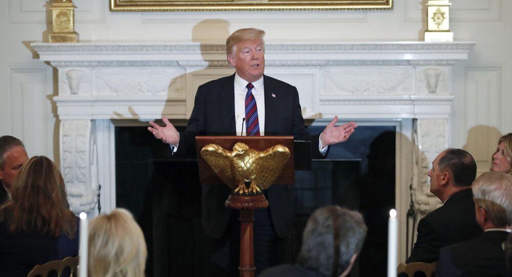 ABD Başkanı Donald Trump, Beyaz Saray'da Evanjelik liderleri ağırladı