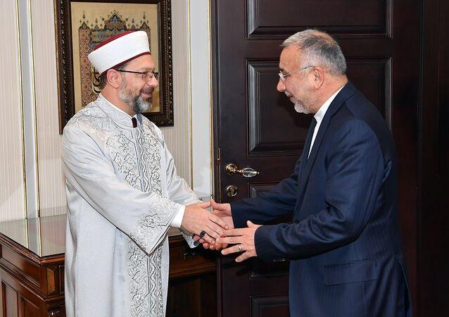 İran'ın Ankara Büyükelçisinden Diyanet'e ziyaret