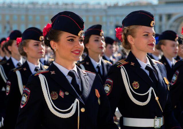 Rus ordusunda görev alan kadınlar