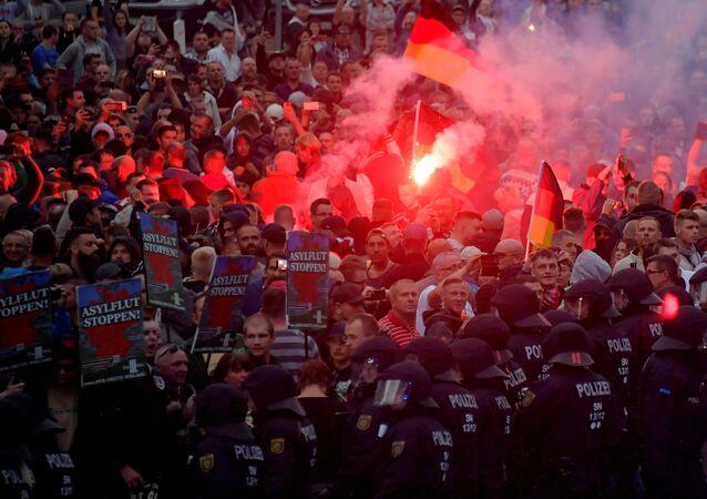 Demo in Chemnitz