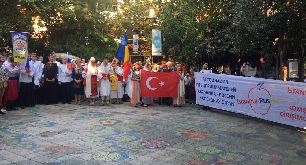 İstanbul-Rus-KOM'un düzenlediği etkinlik