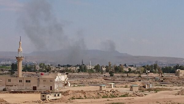 Blasts in the south of Damascus - Sputnik Türkiye