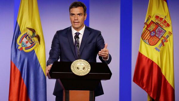 İspanya Başbakanı Pedro Sanchez - Sputnik Türkiye