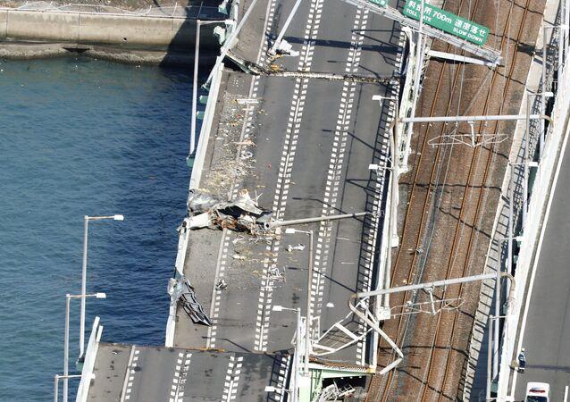Japonya'da Jebi tayfunu
