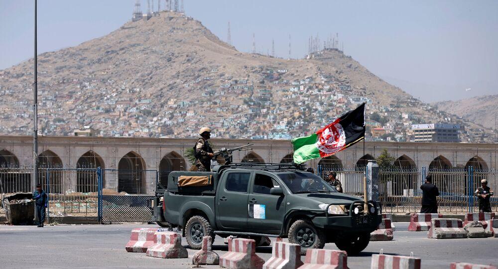 Kabil'de Afgan güvenlik güçleri tetikte