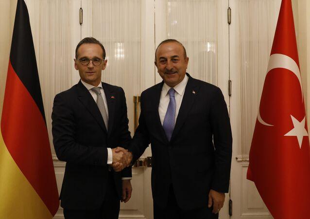 Ankara'da Maas-Çavuşoğlu görüşmesi