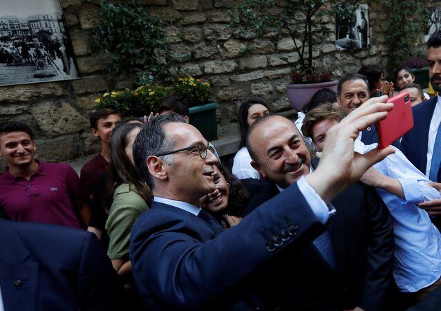 Dışişleri Bakanı Mevlüt Çavuşoğlu- Almanya Dışişleri Bakanı Heiko Maas