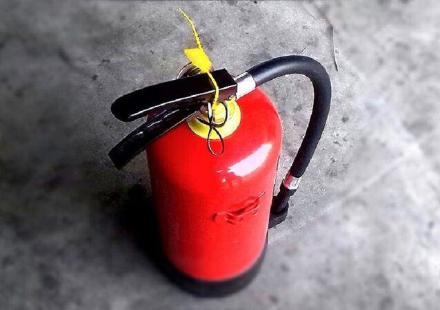 yangın söndürme tüpü