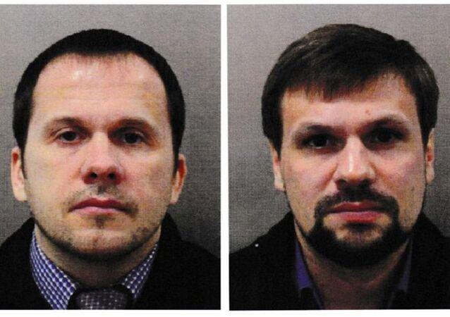 Alexander Petrov ve Ruslan Boshirov