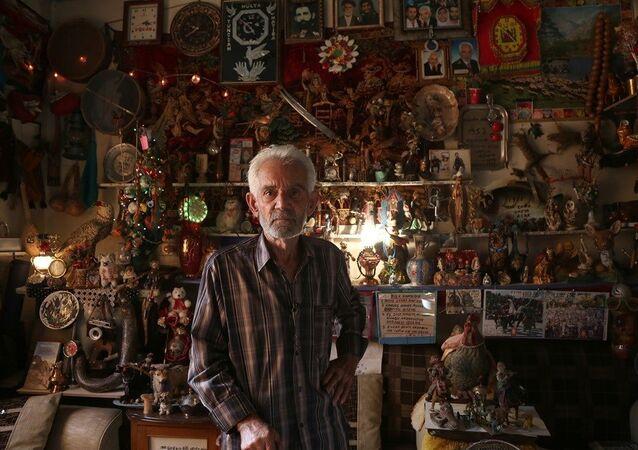 Diyarbakır'da 85'lik dededen 'Vefa Müzesi'