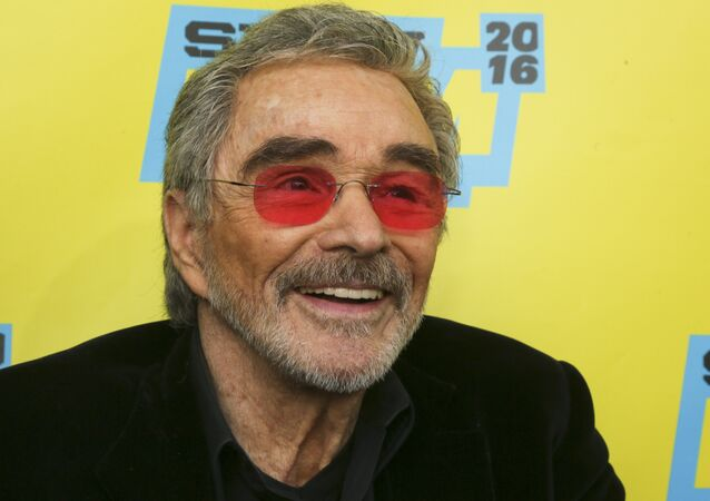 Burt Reynolds is seen at the world premiere of The Bandit at the Paramount Theatre during the South by Southwest Film Festival on Saturday, March 12, 2016, in Austin, Texas.