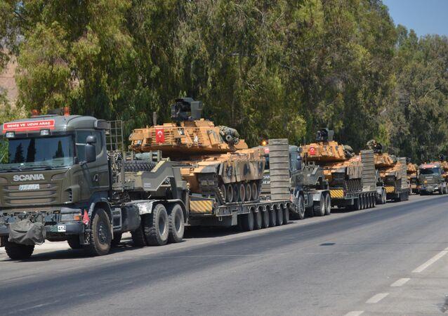 Suriye sınırına ve İdlib kırsalına TSK sevkiyatı