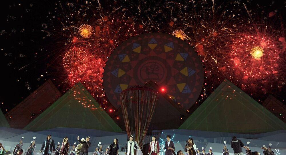 3. Dünya Göçebe Oyunları, Kırgızistan'da oyunların yapıldığı hipodromda düzenlenen kapanış töreni ile sona erdi.