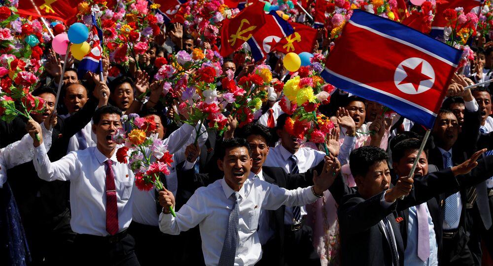 Kuzey Kore'de Cumhuriyet Günü kutlamaları