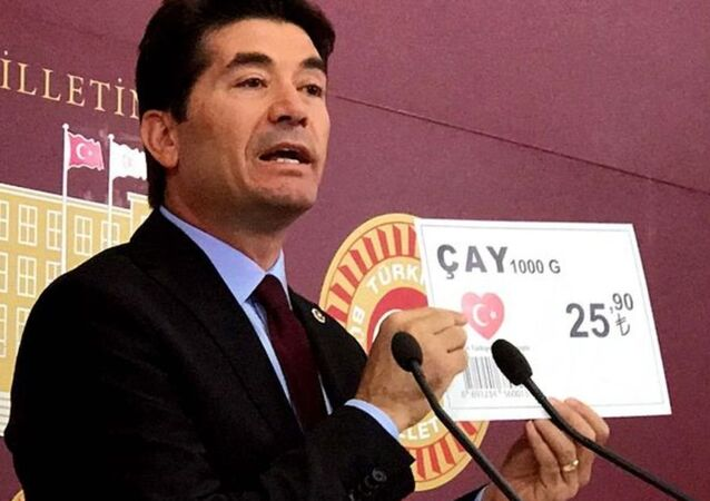 CHP, Ahmet Kaya, kalp şeklinde Türk bayrağı