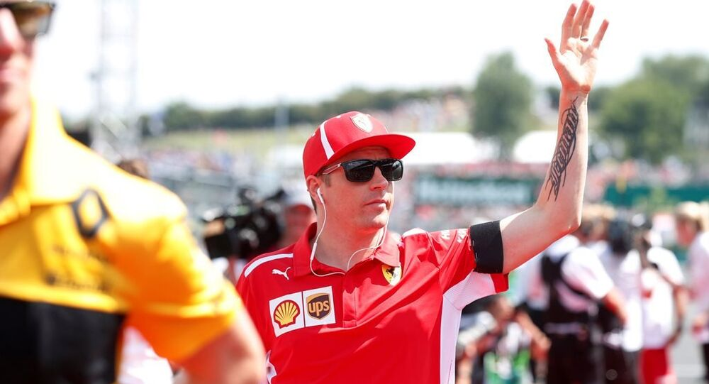 Formula 1'in eski dünya şampiyonu Kimi Raikkonen