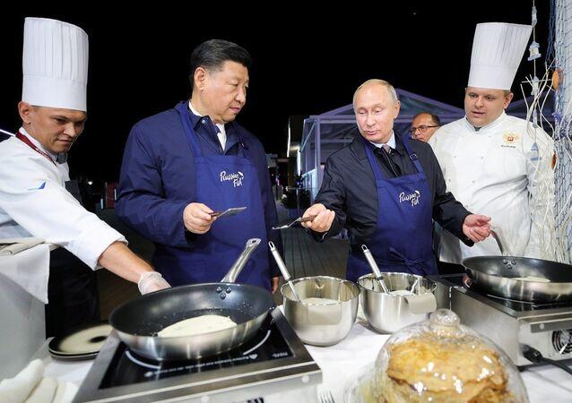 Vladimir Putin - Şi Cinping