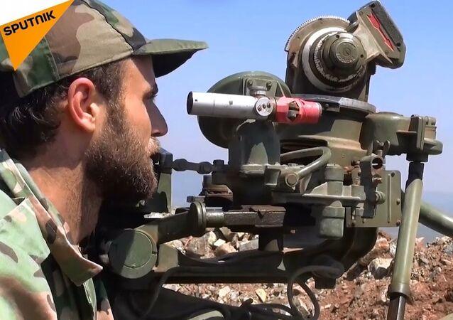 Suriye ordusu Lazkiye'de casus İHA düşürdü