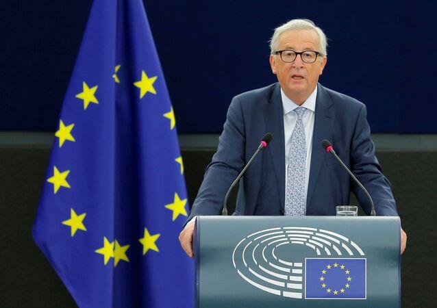 Avrupa Parlametosu'na hitap eden Komisyon Başkanı Jean-Claude Juncker, 2018-19 dönemi için 'birliğin durumu' konuşmasını yaptı.