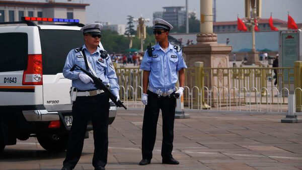 China police - Sputnik Türkiye