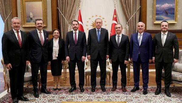 Varlık Fonu yönetim kurulu üyeleri - Sputnik Türkiye