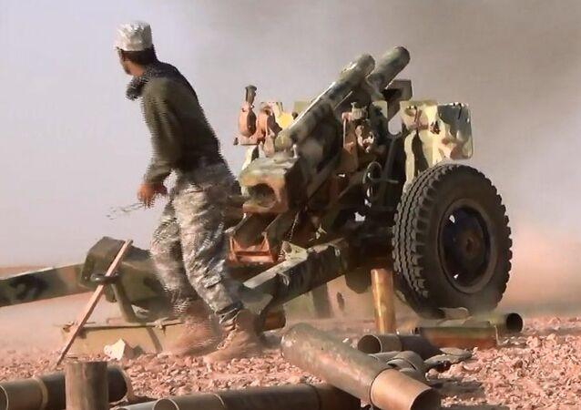 Suriye ordusunun ani saldırısı Humus'taki teröristleri gafil avladı