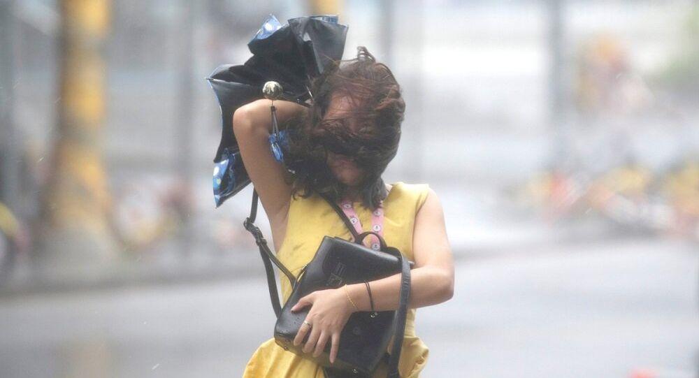 Çin, Mangkhut tayfunu