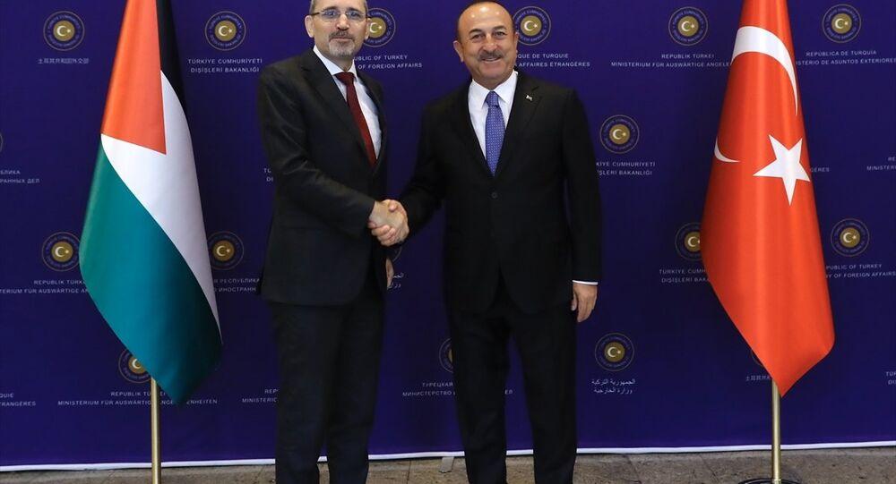 Dışişleri Bakanı Mevlüt Çavuşoğlu - Ürdün Dışişleri Bakanı