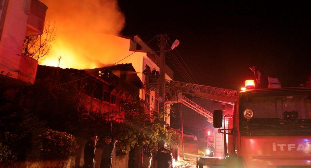 Kocaeli, Suriyeli aile, yangın