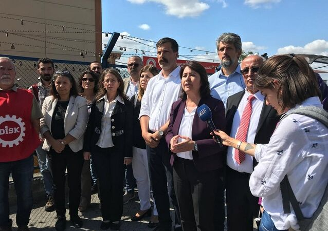 DİSK, HDP, basın açıklaması, 3. havalimanı