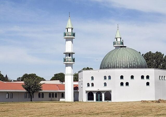 İsveç'in Malmö kentinde cami