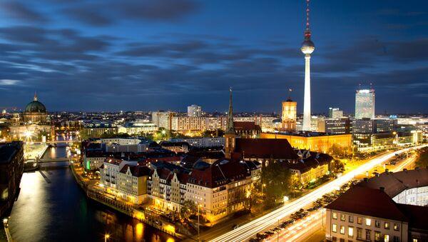 Berlin city view  - Sputnik Türkiye