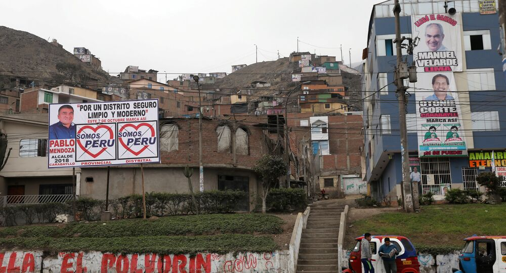 Peru'da yerel seçim