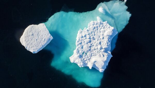Grönland buzullarının erimesi - Sputnik Türkiye