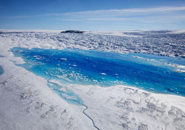 Grönland buzullarının erimesi