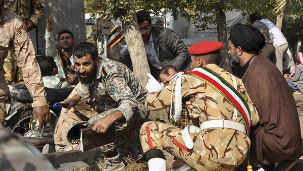 İran'ın Ahvaz kentinde askeri geçit törenine düzenlenen silahlı saldırı - Sputnik Türkiye