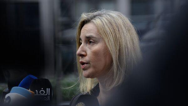 Federica Mogherini - Sputnik Türkiye