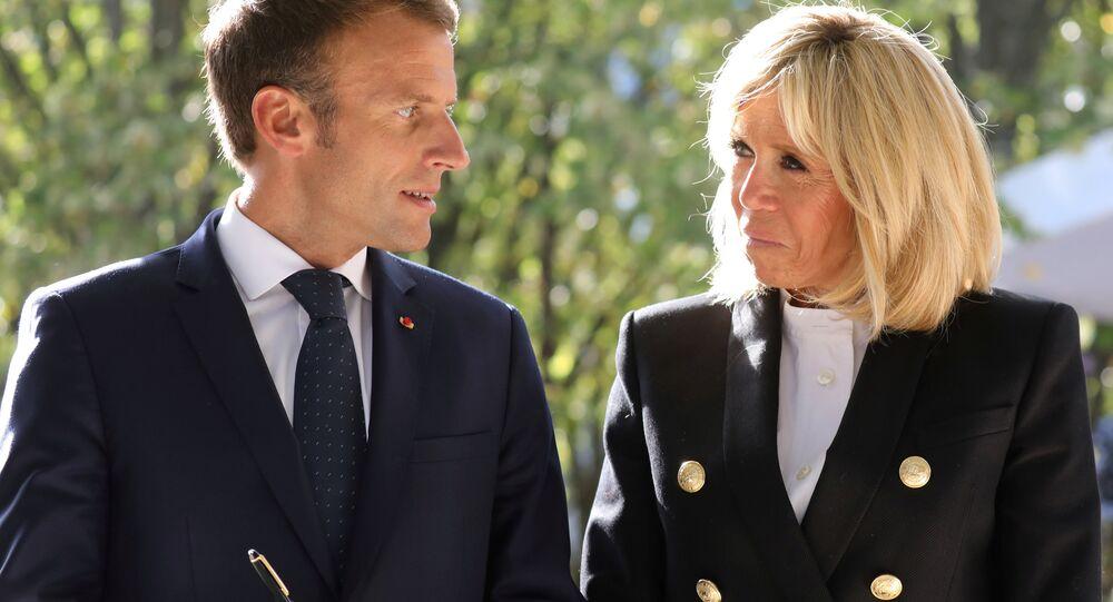 Emmanuel Macron-Brigitte Macron